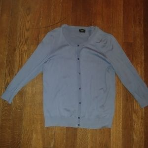 Like New Talbots Sky Blue Cardigan Sz M